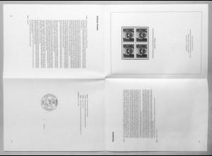 Schwarzdruck SD 7: 1104 Wilhelm Raabe 1981 als kompletter gefalteter Druckbogen
