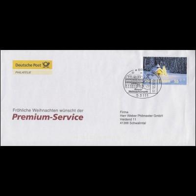2961 Weihnachten EF Bf. Premium-Service SSt BONN 17.12.12 mit Service-Jahresgabe