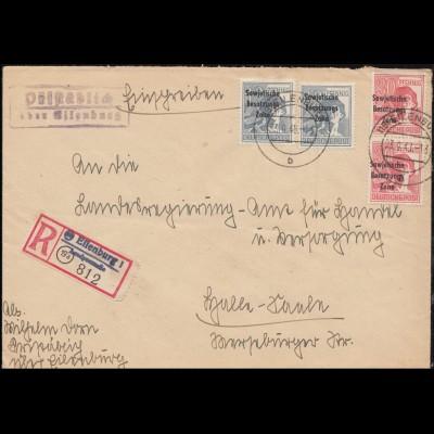 Foto-AK Bäuerin bei der Gurkenernte, handschriftlich Oberklee 18.8.1918