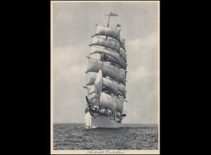 Foto-AK Segelschiff: Schulschiff DEUTSCHLAND, ungebraucht