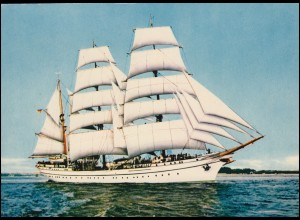 Foto-AK Segelschiff: Segelschulschiff GORCH FOCK, ungebraucht