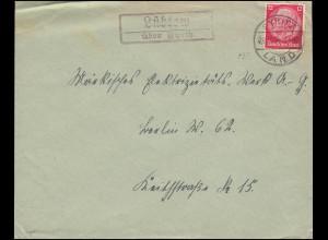 497 Georgius Agricola 1955 auf Schmuck-FDC Ersttagsstempel BERLIN W 8 - 21.11.55