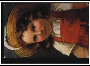 Künstler-AK Ludwig Kraus: Mädchen in Tracht, MANNHEIM 20.3.1917