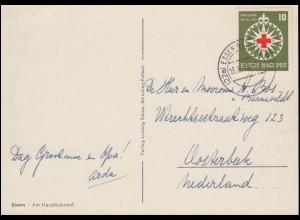 164 Rotes Kreuz auf AK Am Hauptbahnhof ESSEN-RELLINGHAUSEN 16.6.1953