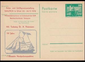 DDR P 79 Deutsche Nordpolexpedition Petermann 1978, **