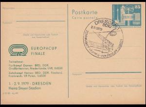 DDR P 80 Europacup Finale Leichtathletik Teilnehmer 1979, SSt DRESDEN 2.9.79