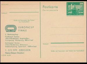 DDR P 79 Europacup Finale Leichtathletik 2. Tag Dresden 1979, **