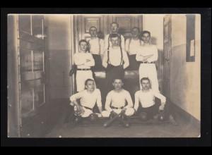 Sport-AK Kegeln: Fotoaufnahme junge Männer - Mein Kegelklub, ungebraucht
