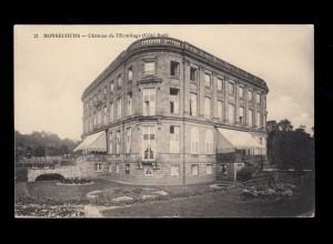AK Bonsecours (Seine-Maritime) Schloss Ermitage, Feldpost 6. Armee 3.1.1915