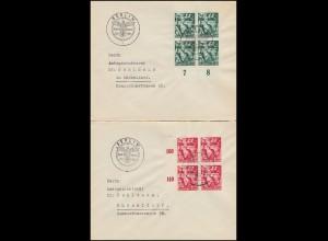 660-661 Machtergreifung: Brief-Paar passender SSt BERLIN Zum 30. Januar 30.1.38