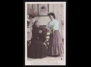 Les yeux de la Maman, Édouard Stebbing, Mutter Tochter Geschenke, ungebraucht