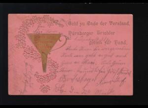 Nürnberger Verstands Trichter Gold, Nürnberg /Bad Kissingen 15. + 16.11.1904