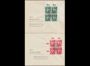 660-661 Machtergreifung: Brief-Paar passender SSt LEIPZIG Zum 30. Januar 30.1.38