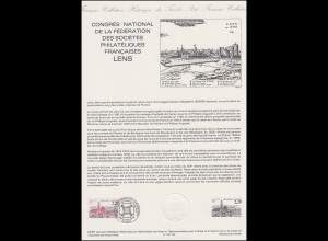 Collection Historique: Nationaler Philatelisten-Kongress Lens 6.6.1987
