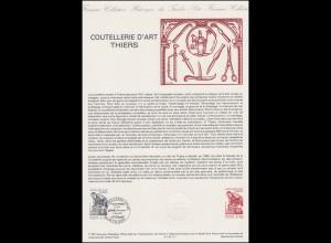 Collection Historique: Coutellerie d'art Thiers & Messerschmiedekunst 7.3.1987