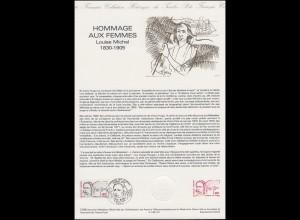 Collection Historique: Hommage aux Femmes Louise Michel 8.6.1996