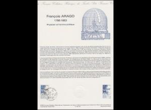 Collection Historique: Physiker und Politiker François Arago 22.2.1986