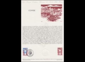 Collection Historique: Corse / Korsika 9.1.1982