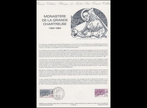 Collection Historique: Klosteranlage Monastère De La Grande Chartreuse 7.7.1984