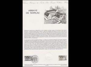 Collection Historique: Abbaye De Noirlac Zisterzienserabtei Klosteranlage 2.7.83