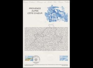 Collection Historique: Provence-Alpes-Côte d'Azur am Mittelmeer 8.1.1983