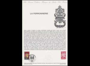 Collection Historique: La Ferronnerie & Kunstschmiedearbeiten 17.4.1982