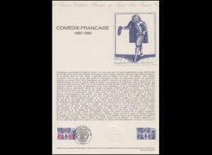 Collection Historique: Comédie-Française & Französische Komödie 18.10.1980