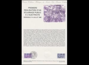 Collection Historique: Eclairage public à l'electricite Straßenbeleuchtung 1982