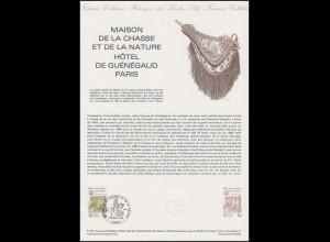 Collection Historique: Maison de la chasse et de la nature Museum Paris 24.10.81