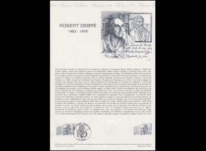 Collection Historique: Kinderarzt Robert Debre 15.5.1982