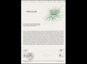 Collection Historique: Pen Club - Schriftstellervereinigung 19.9.1981