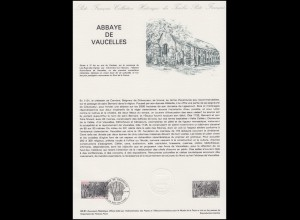 Collection Historique: Kloster und Abtei Abbaye de Vaucelles 19.9.1981