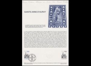 Collection Historique: Kirche Sainte-Anne-D'Auray Lyon 4.7.1981