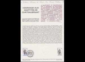 Collection Historique Denkmal Monument Commémoratif Chateaubriant 12.12.1981