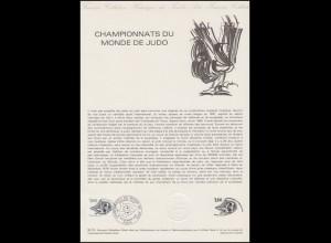 Collection Historique: Championnats du Monde de Judo / Judo-WM 21.11.1979