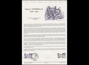 Collection Historique: Theaterautor und Dramatiker Pierre Corneille 29.9.1984