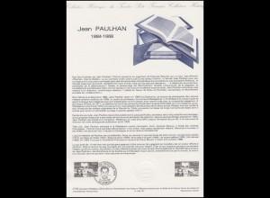 Collection Historique: Schriftsteller und Publizist Jean Paulhan 27.10.1984