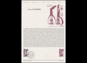 Collection Historique: Musikinstrumente - Die Violine / La Lutherie 8.12.1979
