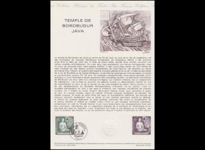 Collection Historique: Borobudur - UNESCO Welterbe Tempelanlage / Java 24.2.1979
