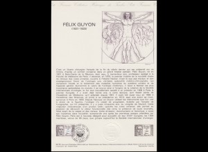 Collection Historique: Chirurg und Urologe Felix Guyon 23.6.1979