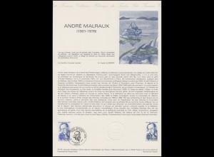 Collection Historique: Schriftsteller Filmregisseur Politiker André Malraux 1979