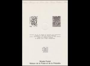 Collection Historique: Postmuseum Paris / Meilleurs C. Durrens & P. Gandon 1978