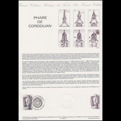 Collection Historique: Leuchtturm von Cordouan / Phare de Cordouan 23.6.1984