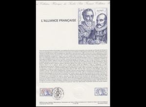 Collection Historique: L'Alliance Française / Die Französisch-Allianz 1883-1983