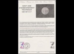 Collection Historique: Technische Ausbildung / Enseignement Technique 4.10.1986