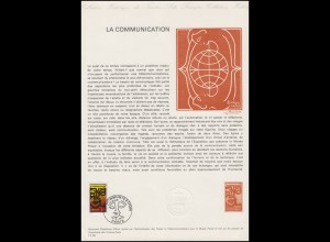 Collection Historique La Communikation - Communication - Kommunikation 12.6.1976