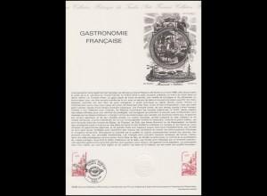 Collection Historique: Gastronomie Française - Gastronomie und Küche 1980