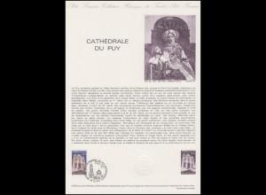 Collection Historique: Cathédrale du Puy / Kathedrale von Puy 30.5.1981