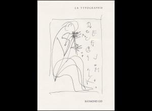 Collection Historique: Typografie - Kunst und Handwerk des Druckens 1.3.1986
