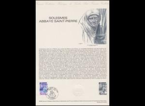 Collection Historique: Benediktinerabtei Saint-Pierre de Solesmes 20.9.1980